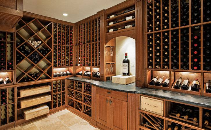 Wine Cellars Fresh Approach Traditional Design