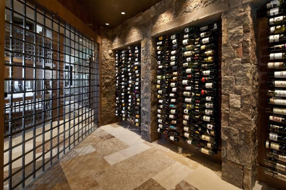 Wine Cellars Overflowing Artful Storage