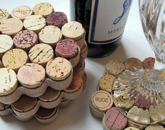 Wine Cork Coasters Diy Projects Pinterest