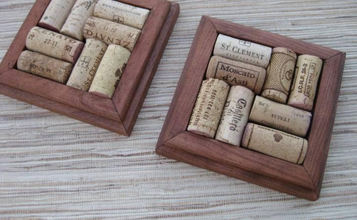 Wine Cork Coasters Make Diy Crafthubs