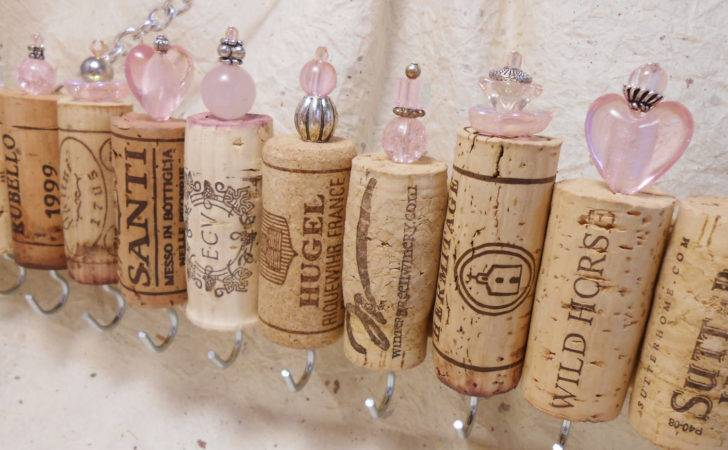 Wine Cork Jewelry Holder Cintinque Etsy