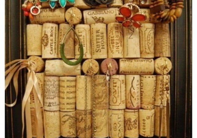Wine Cork Jewelry Holder Diy Pinterest