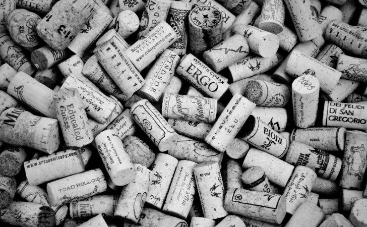 Wine Corks Black White Recork Wants Your