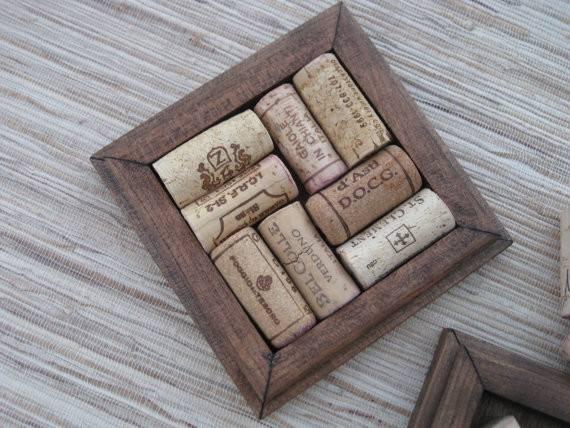 Wine Corks Diy Wood Coasters Reclaimed Reuse Your