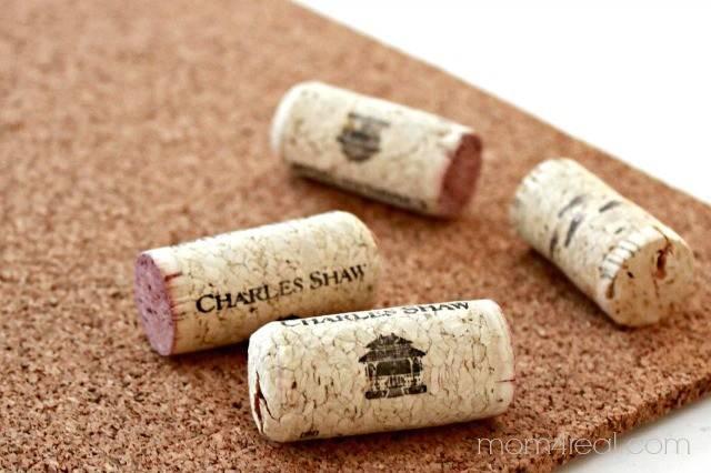 Wine Corks Make Coasters