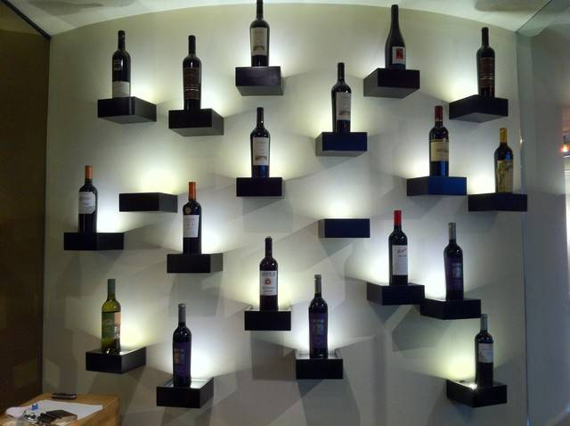 Wine Display Modern