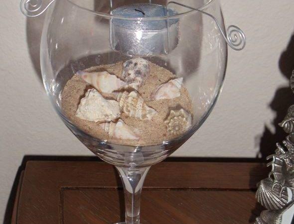 Wine Glass Centerpiece Weddingbee