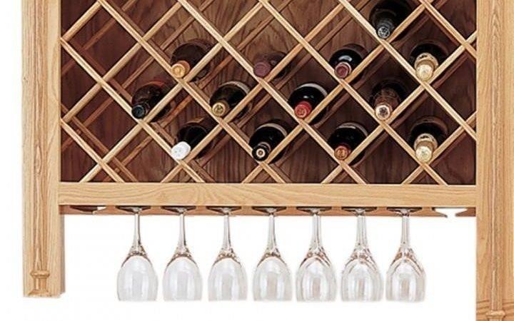 Wine Lattice Glass Moldings