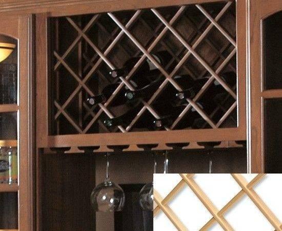 Wine Rack Lattice Home Pinterest