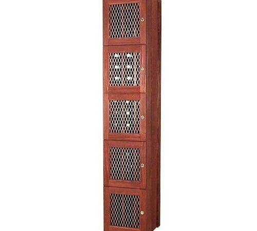 Wine Rack Lattice Panel Deluxe Omega National Products