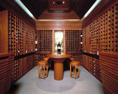 Wine Room Design Interior Furniture