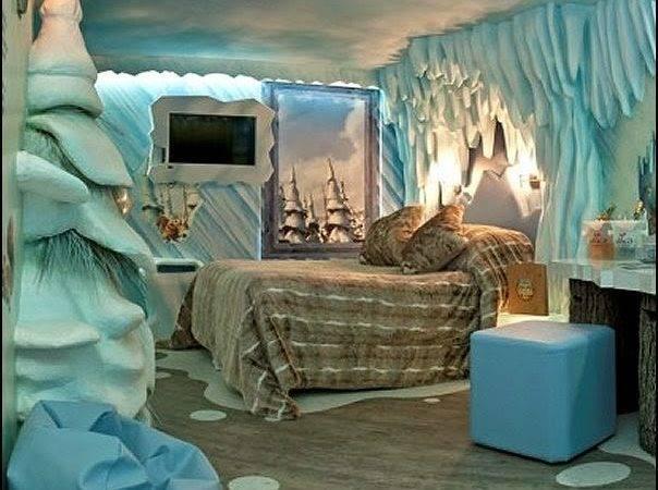 Winter Wonderland Themed Bedroom New Style