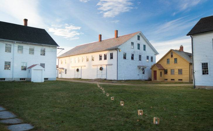 Wintertime Canterbury Shaker Village Truly Magical Thyme