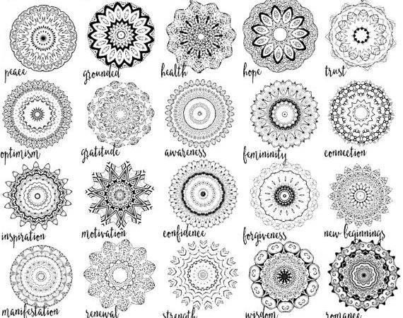 Wisdom Mandala Mug Diy Color Your Own Exaltation