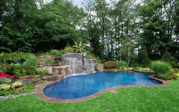 Wonderful Backyard Pool Designs Landscaping Pools