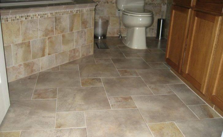 Wonderful Bathroom Large Ceramic Tile