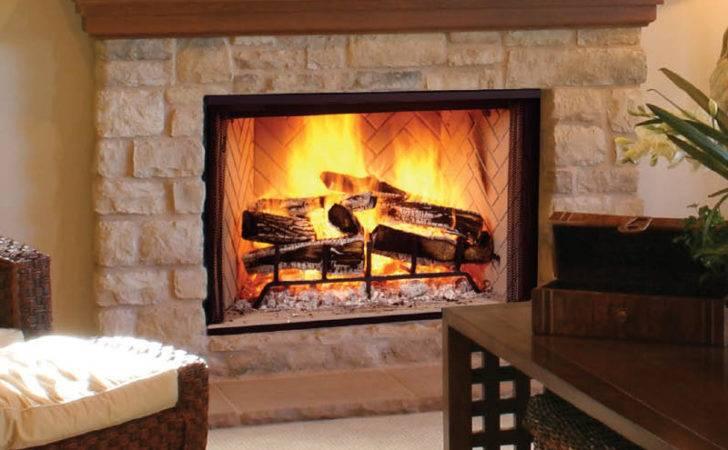 Wood Burning Fireplace Chimney King New England