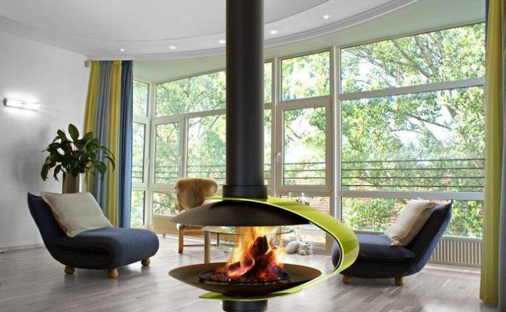 Wood Burning Suspended Fireplace Raised Fireplaces Stoves Pint