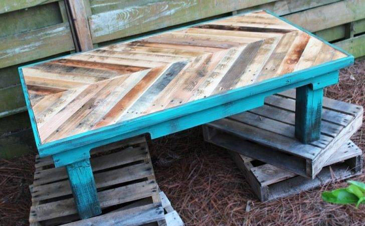 Wood Coffee Tables Chalk Paint Colors Pallets