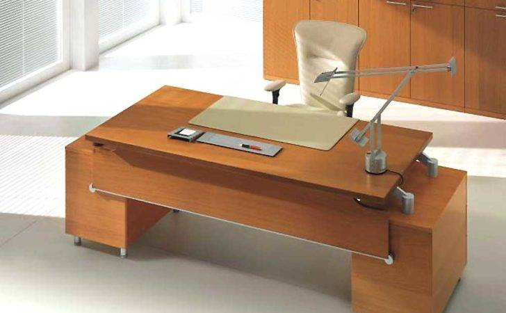Wood Contemporary Office Furniture Executive