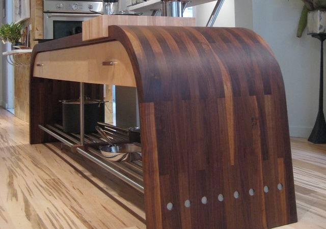 Wood Countertop Modern Kitchen Countertops Detroit Engrain