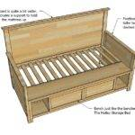 Wood Daybed Plans Here Plan Look Dated Very Simple