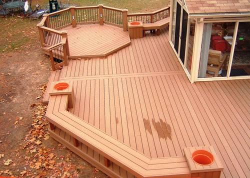 Wood Deck Constructions Several Tips Build Decks