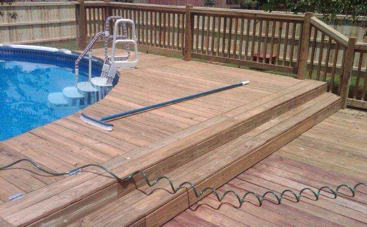 Wood Decks Pool
