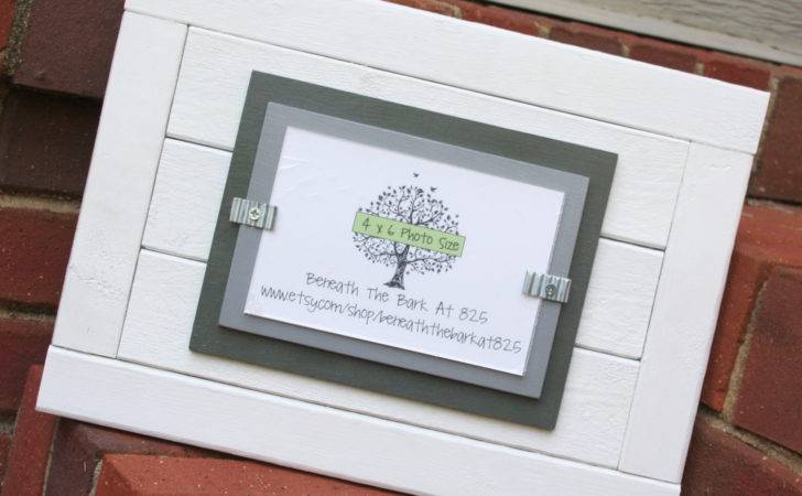 Wood Frame Double Mats Holds White