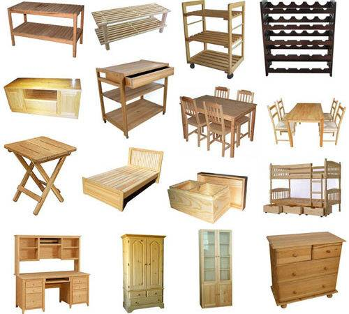 Wood Furniture Manufacturers Types