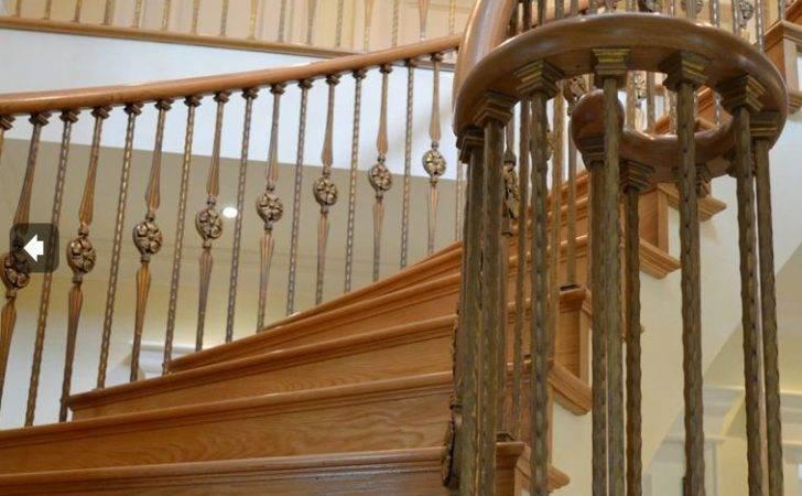 Wood Handrail Volute Fitting
