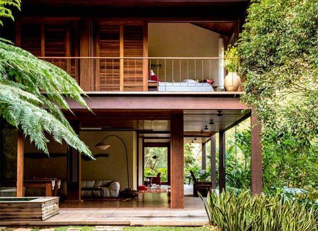 Wood House Design Tropical Houses Architecture