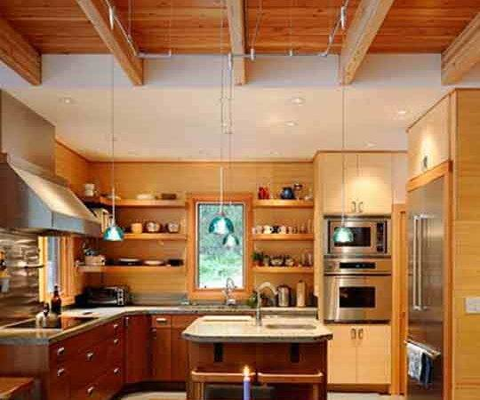 Wood Interior Home Design House Samples