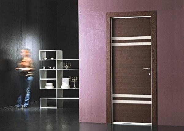 Wood Metal Modern Door Glass Designs