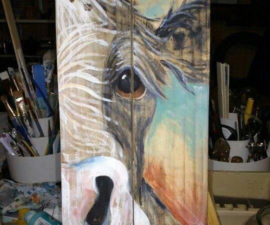Wood Painting Art Farm Ideas Painted Barn