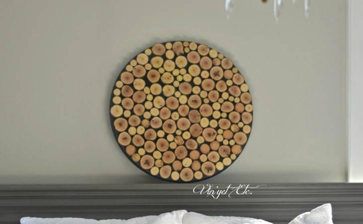 Wood Slice Art Tutorial Vin Yet Etc