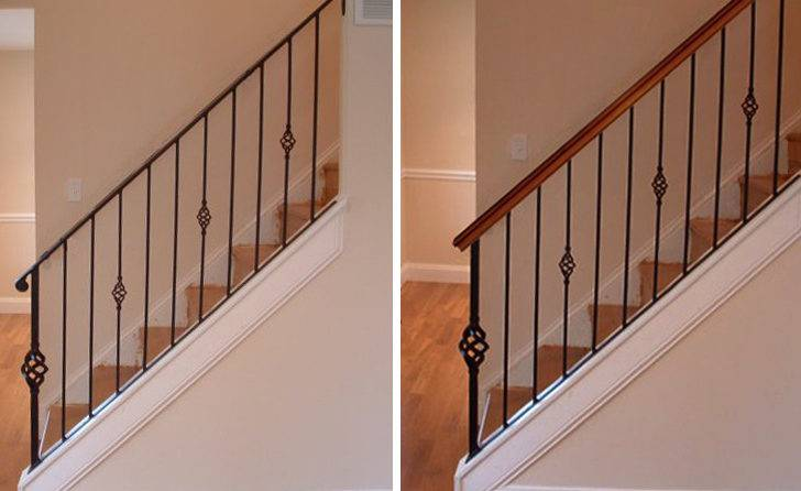 Wood Stair Handrail Remodeling Archives Parts Blog