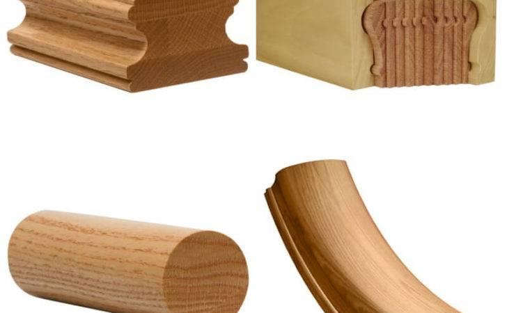 Wood Stair Handrails Railing Hardwood Hand Railings