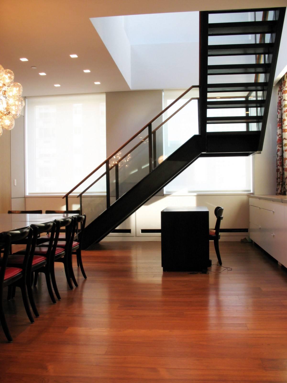 Wood Steel Stair Caliper Studio