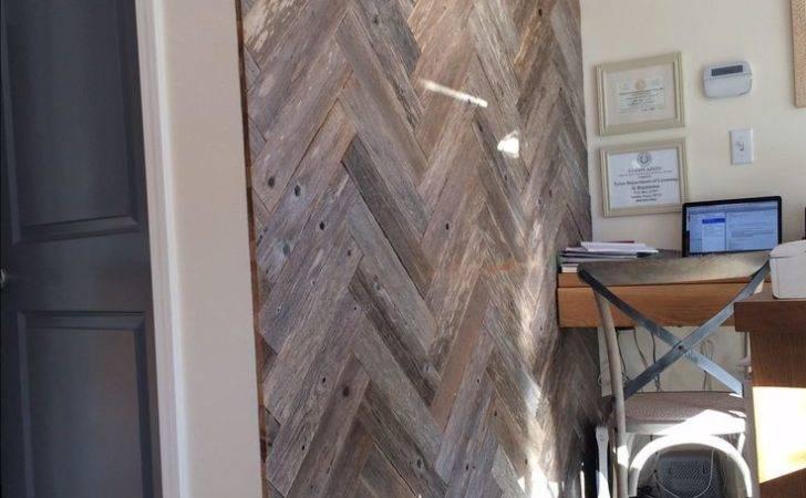 Wood Wall Room Pinterest Pallet Walls Herringbone