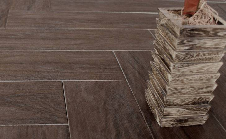 Wood Wenge Effect Porcelain Floor Tiles Sqm
