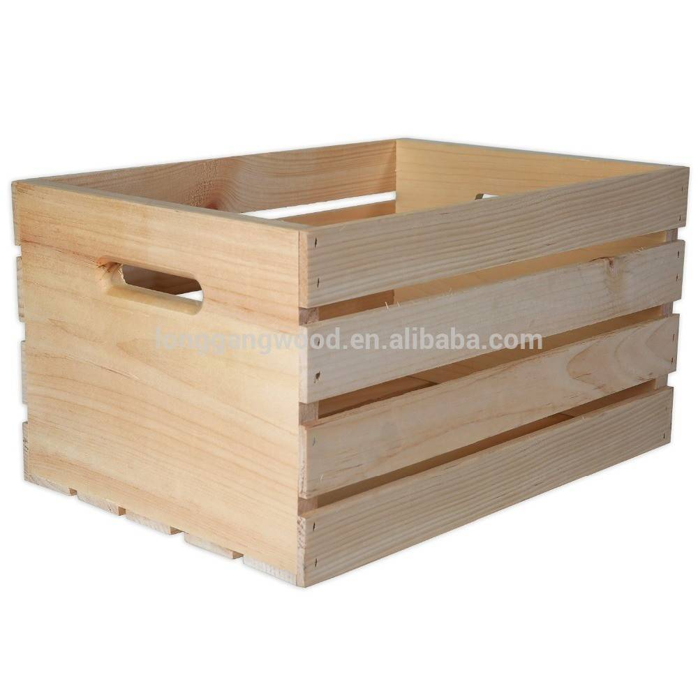 Wood Wine Boxes Wooden Crate Sale Product