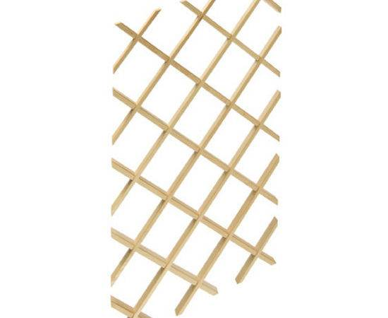 Wood Wine Rack Lattice Maple Hafele Kitchensource