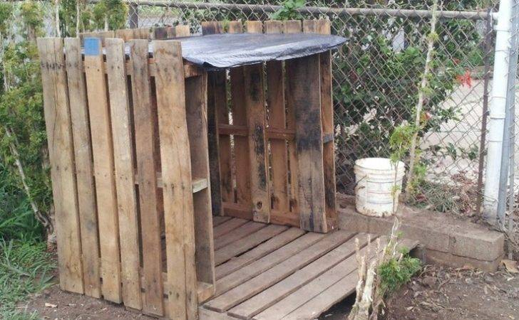 Wood Working Pallet Dog House Plans