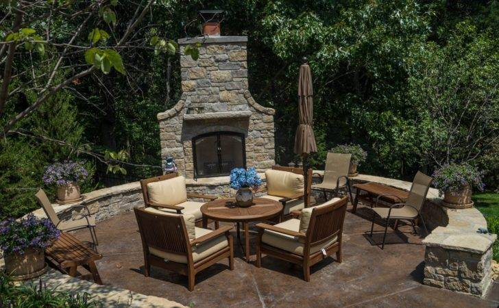 Wooded Backyard Landscaping Design Poynter Landscape