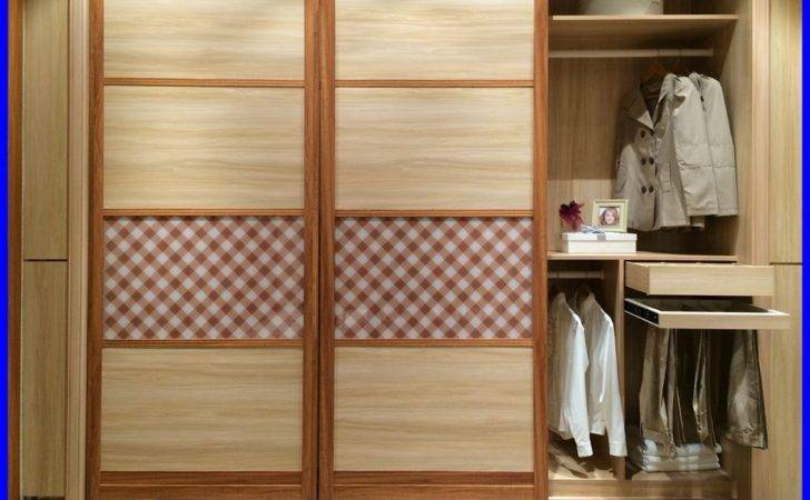 Wooden Almirah Designs Bedroom Wall
