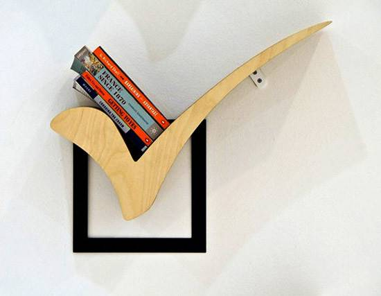 Wooden Book Shelves Creative Bookshelf Design Ideas Interior