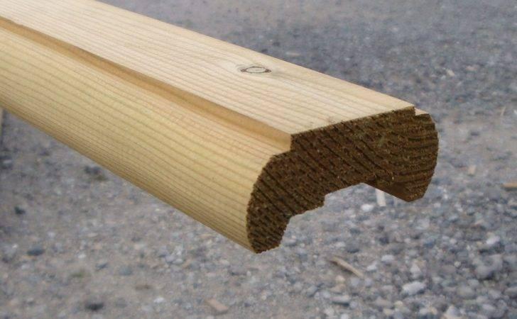 Wooden Decking Handrails