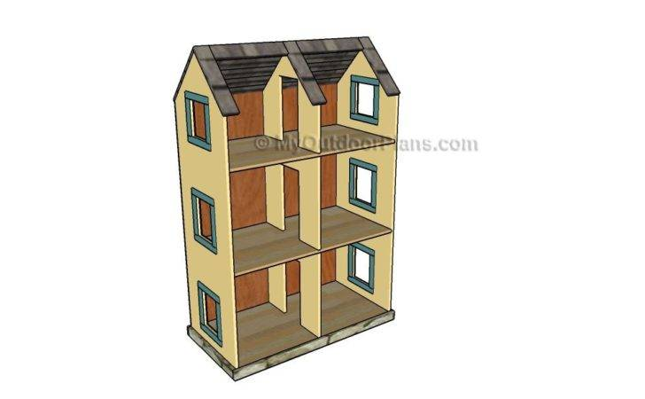 Wooden Doll House Plans Wood