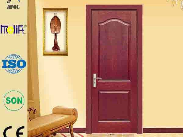 Wooden Doors Hdf Board Pvc Skin Single Plywood Designs